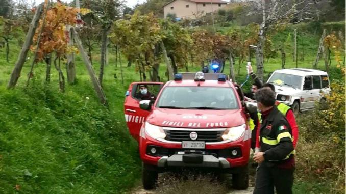 Incidente di caccia nell'Eugubino, parte un colpo, ferito ad una gamba