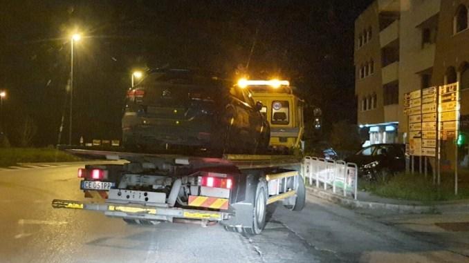 Incidente stradale sulla 75 Centrale Umbra, 4 veicoli coinvolti