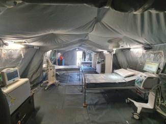 Un ospedale da campo anche al Santa Maria di Terni