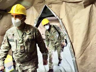 L'Esercito lascia l'ospedale militare, i saluti il 26 maggio 2021
