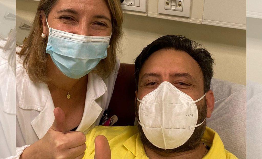 Covid, Matteo Fortunati dona il plasma iperimmune, la sua testimonianza 🔴 VIDEO E FOTO 📸