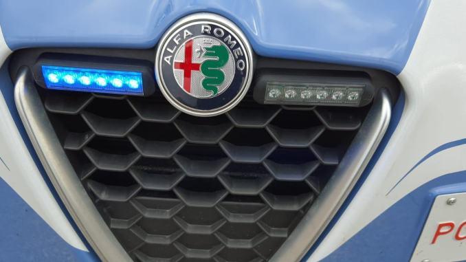 Poliziotti inseguono malviventi in piazza Grimana a Perugia, un arresto e una denuncia