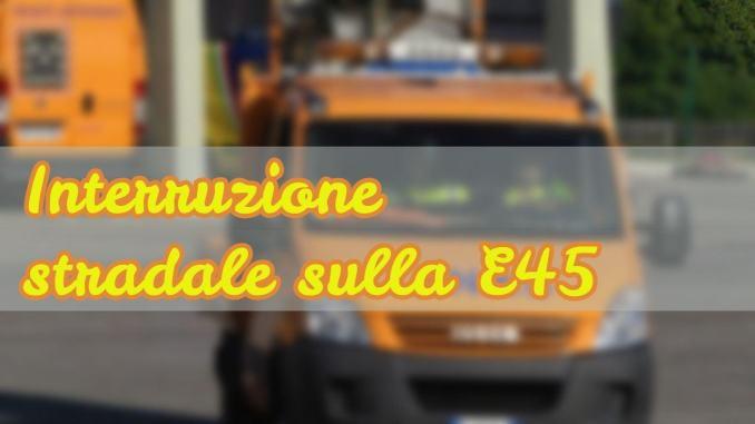 Umbria, Anas: lavori sulla E45 tra Montecastrilli e San Gemini Nord