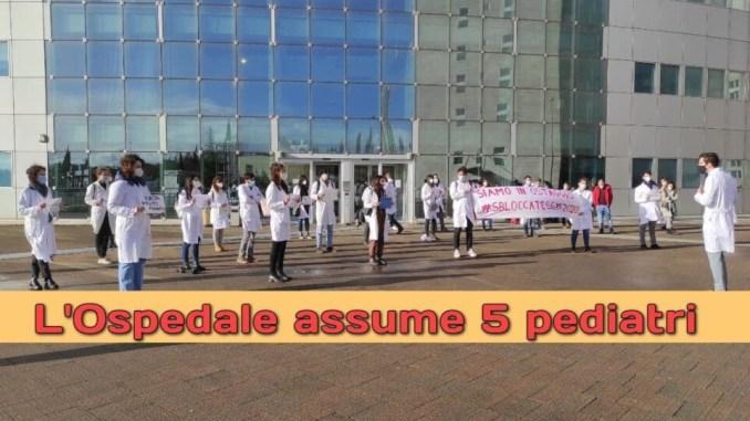 Ospedale Perugia assume e stabilizza 5 medici pediatri, graduatoria online