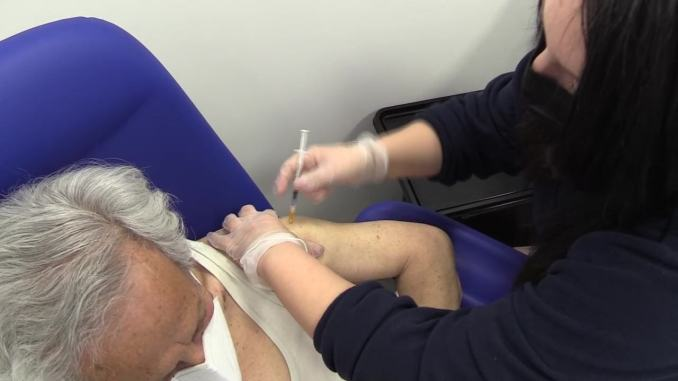Umbria, maggior numero dosi vaccino somministrate a over 80