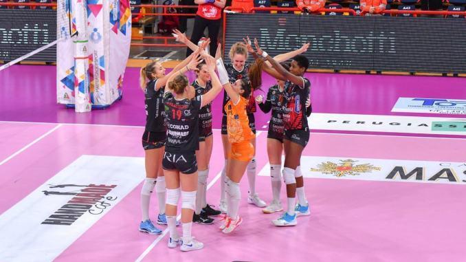 Bartoccini Fortinfissi, con Trento al PalaBarton termina la regular season
