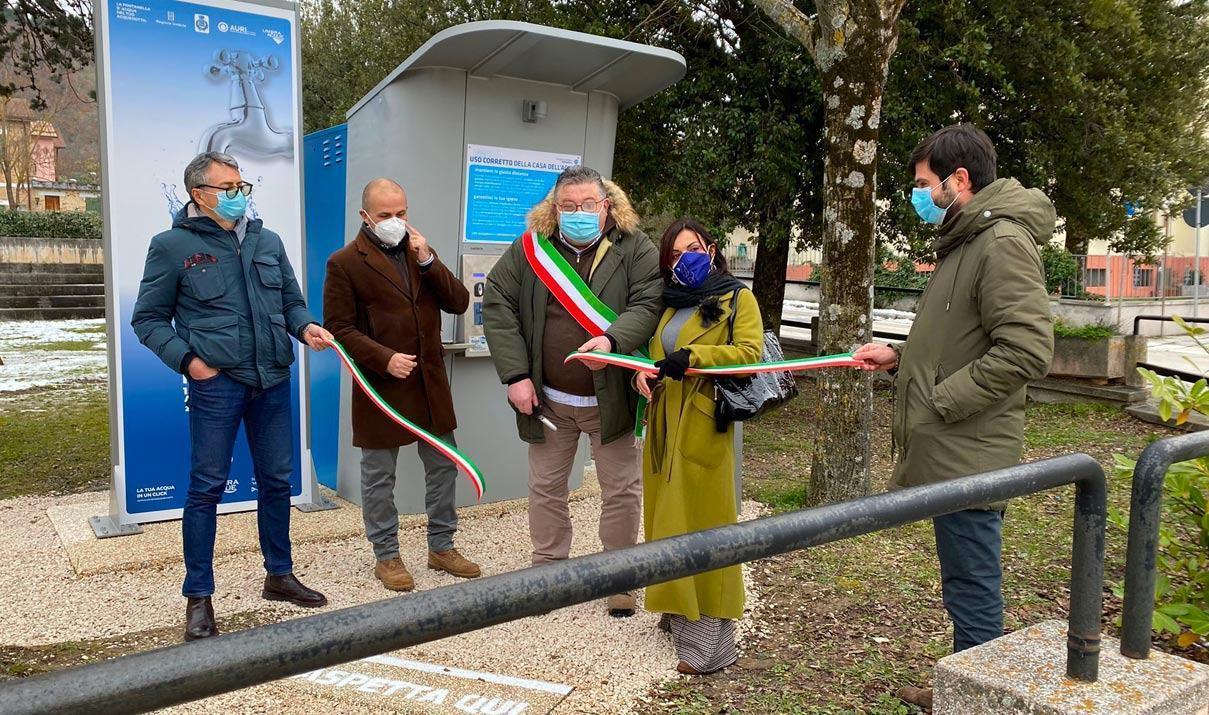 Riapriranno in Umbria le 59 case dell'acqua, come da ordinanza regionale