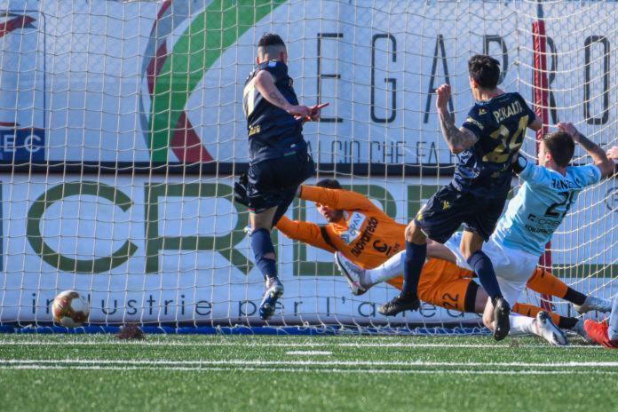 Virtus Francavilla-Ternana 1-1, per i rossoverdi in gol Cèsar Falletti