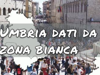 Epidemiologi, Umbria covid meglio che altrove, verso zona bianca