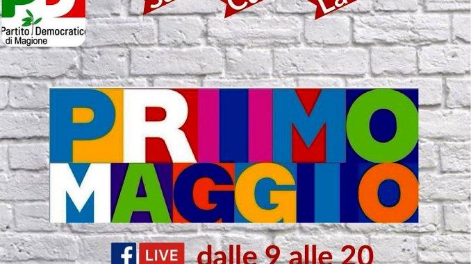 Primo maggio, maratona di dibattiti online organizzata dal Pd di Magione