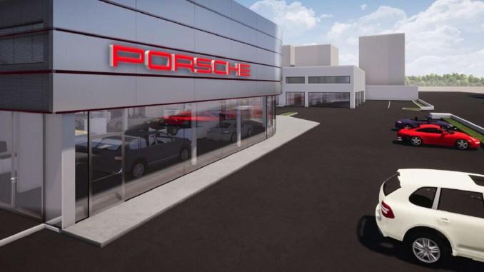 Ripartiti i lavori di ristrutturazione del Centro Porsche Perugia