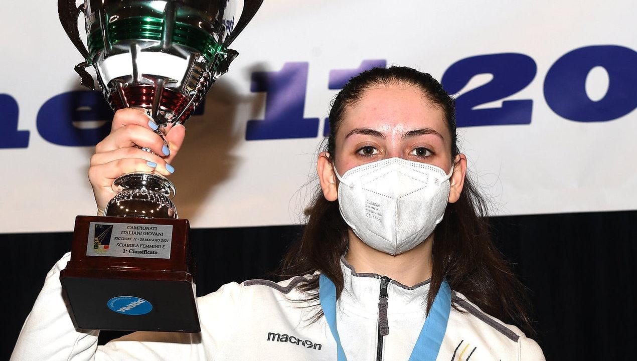 Vally Giovannelli è campionessa d'Italia di sciabola