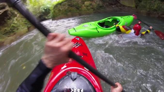 Campionato italiano under 23 di canoa sul fiume Nera