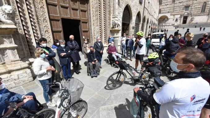 "Tappa a Perugia ""Umbria coast to coast"" viaggio on the road per Popy"