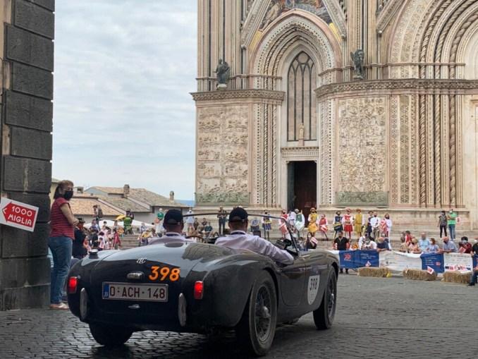 39^ 1000 Miglia ad Orvieto in un clima di festa, entusiasmo e grande spettacolo per la gara più bella del mondo
