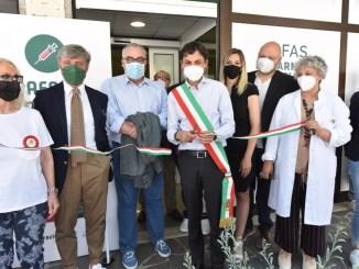 """Afas hub vaccinale a San Sisto, Romizi """"Rafforzare capacità di risposta"""""""