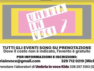 """Dal 17 al 25 luglio torna a Gubbio """"Umbria in voce"""". Festival internazionale con un ricco cartellone di eventi"""