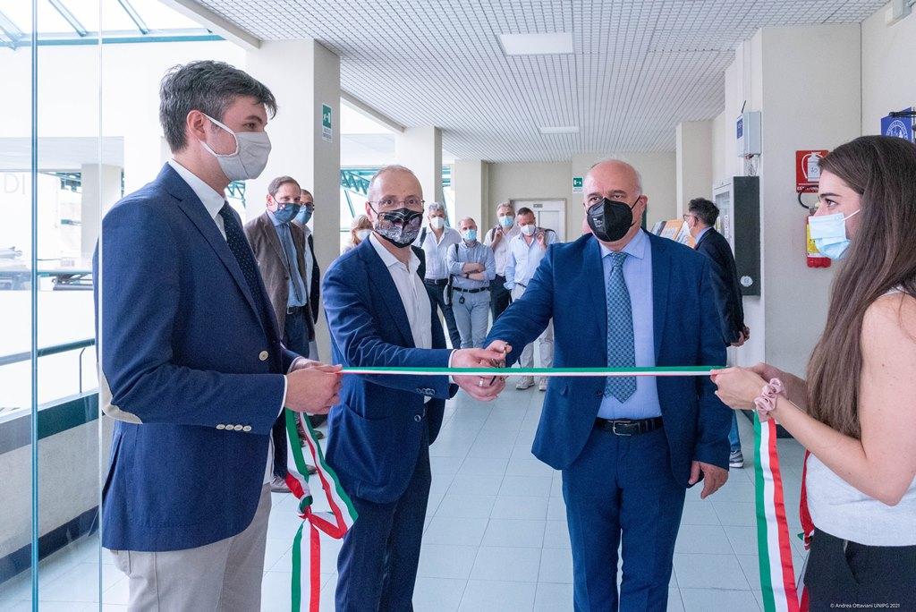 Unipg, cerimonia di inaugurazione della nuova Sala Dottorandi