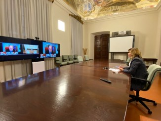 Incontro cinque regioni, presidente Tesei: progetti condivisi e strategici