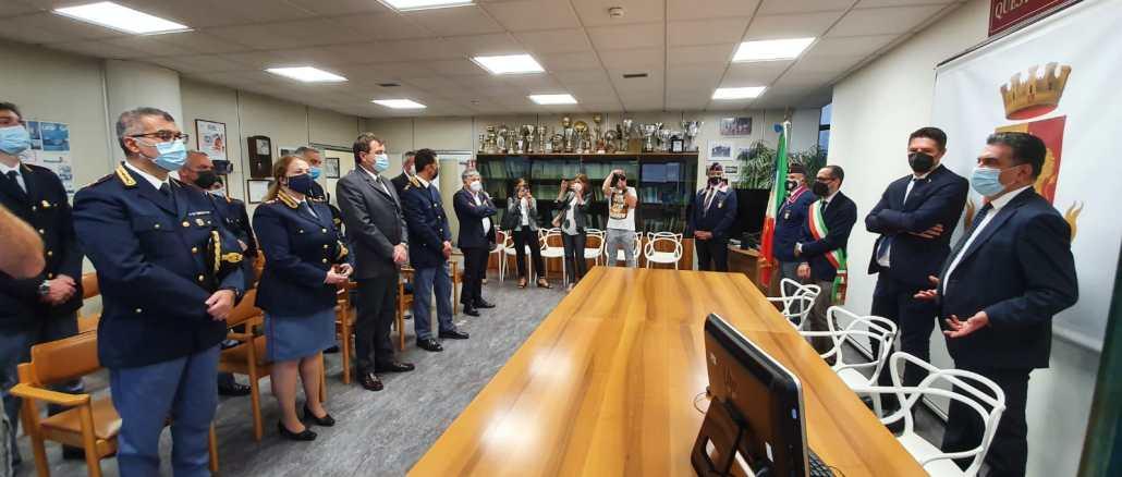 Onorevole Nicola Molteni in visita a Terni, Prefettura e Questura