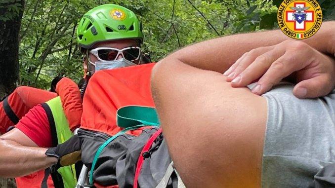 Interventi su sentieri montani per il soccorso alpino e speleologico Umbria