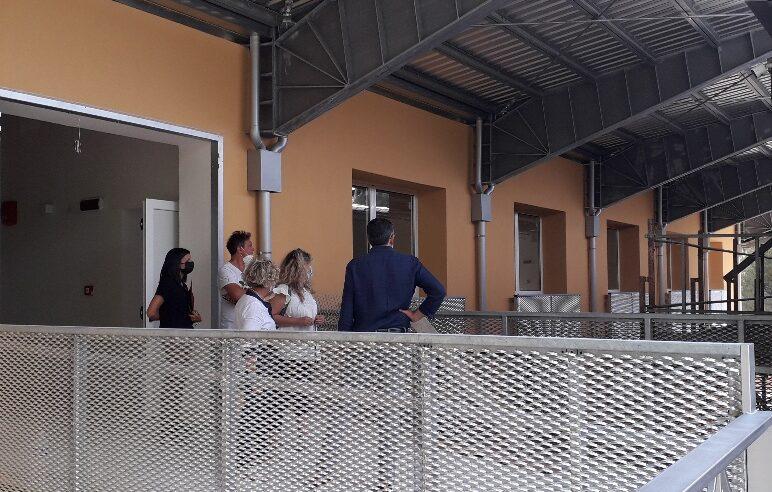 Family Hub, sopralluogo di Cicchi alla struttura di Madonna Alta