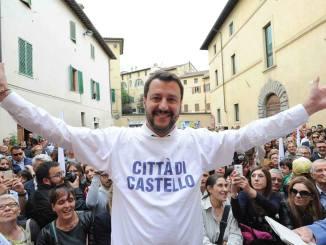 Salvini torna a Città di Castello: sarà a Trestina martedì 27 luglio