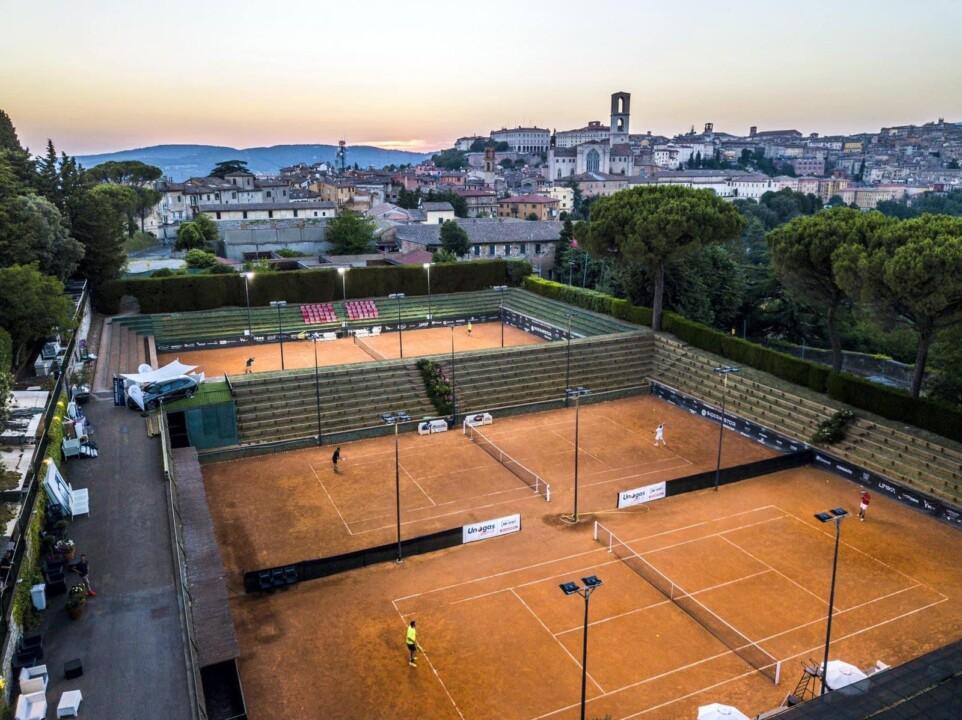 La sesta edizione degli internazionali di tennis al Tennis Club Perugia