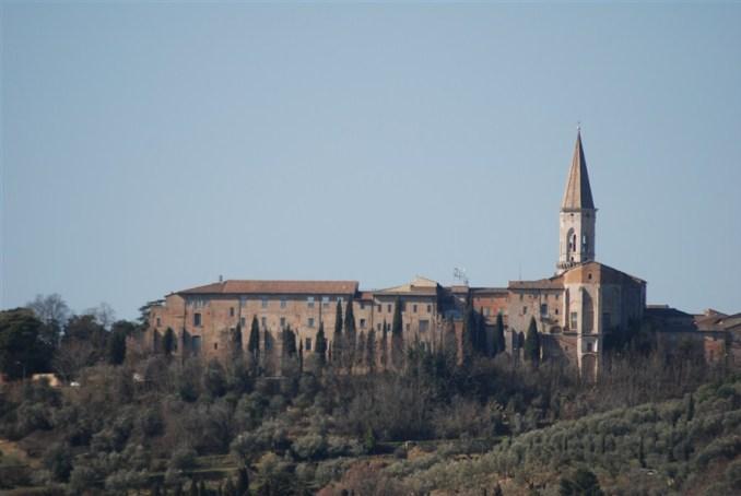 Vista Abbazia di San Pietro a Perugia