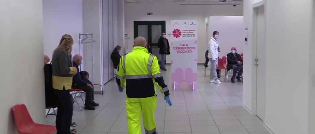 Tentato furto all'hub vaccinale di Bastia, ma le dosi non c'erano