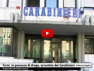 Arrestato dai carabinieri un marocchino con quasi un etto di marijuana