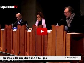 Sisma, incontro a Foligno, ci sono norme e risorse per ricostruzione
