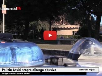 Albergo abusivo, alla periferia di Assisi, scoperto dalla Polizia