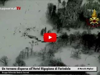 Tra i dispersi dell'Hotel Rigopiano travolto da una slavina, c'è anche un cittadino di Terni
