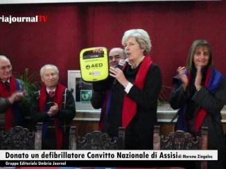 """Il Convitto Nazionale """"Principe di Napoli"""" di Assisi ha un defibrillatore"""