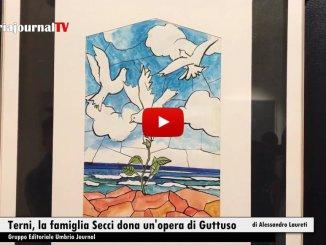 La famiglia Secci dona un'opera di Guttuso alla città di Terni