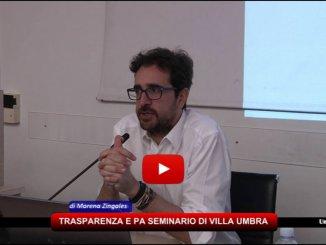 Trasparenza e PA, 130 partecipanti al seminario di Villa Umbra
