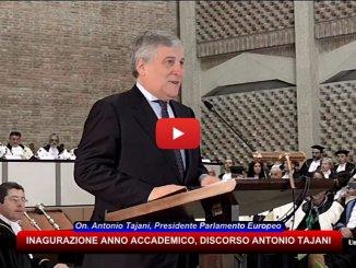 Università di Perugia, relazione Presidente Antonio Tajani [VIDEO INTEGRALE]