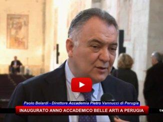 Accademia delle Belle Arti Pietro Vannucci di Perugia interviste a Paolo Belardi e Mario Rampini