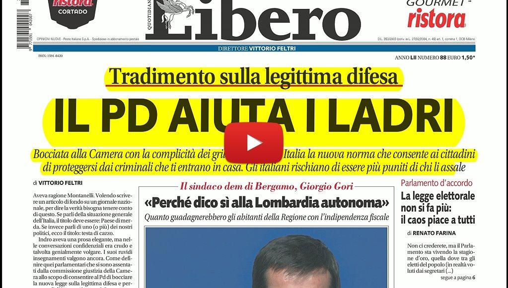 La rassegna stampa dell umbria del 29 marzo 2017 legittima for Camera deputati rassegna stampa