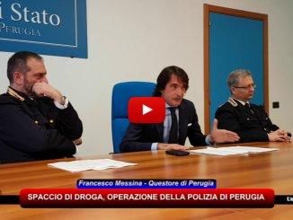 Spaccio di droga, operazione della polizia di Perugia, la dichiarazione del questore