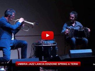 Umbria Jazz Spring, Peppe Servillo, Danilo Rea il 17 aprile a Terni