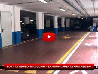 Parcheggio Fonti di Veggio a Perugia, inaugurata una nuova area di Fontivegge