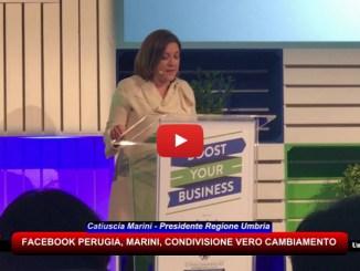 Facebook Perugia, Marini, condivisione è vero cambiamento