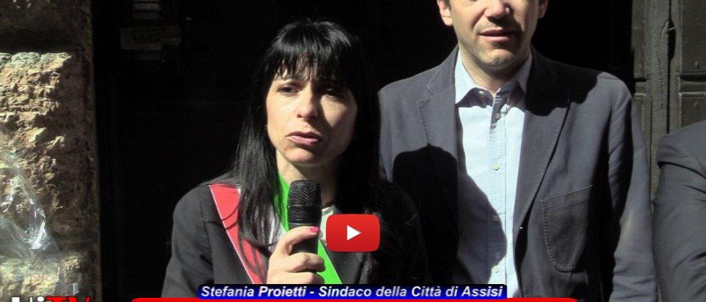 Celebrato ad Assisi il 25 aprile, ricordata la figura del primo sindaco, Giuseppe Sabaraglini