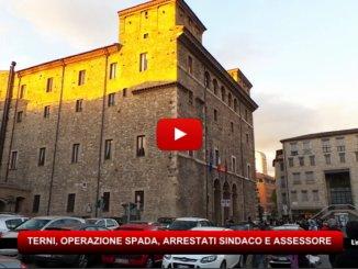 Terni, Operazione Spada, Sindaco e Assessore agli arresti domiciliari