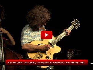 Pat Metheny ad Assisi, suona per terremotati Norcia
