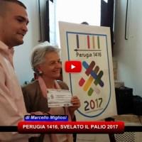 Perugia 1416, ecco il Palio 2017, a realizzarlo Nacir Imache