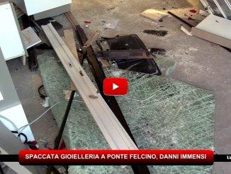 Spaccata alla gioielleria Farabbi di Ponte Felcino, danni immensi