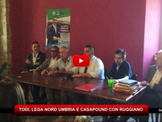 Ballottaggio Todi, Lega Nord Umbria e Casapound con Antonino Ruggiano